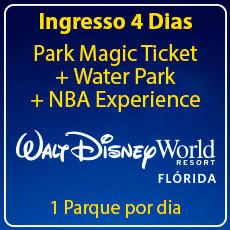 BLACK FRIDAY - Walt Disney World 4 Park Magic com Water Park + NBA Experience